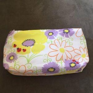 3/$10 • Clinique Floral Makeup Bag • New